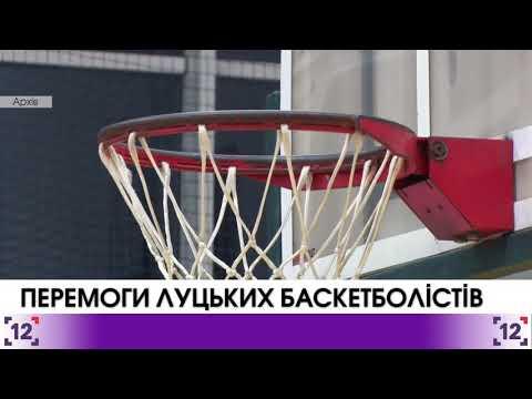 Перемоги луцьких баскетболістів