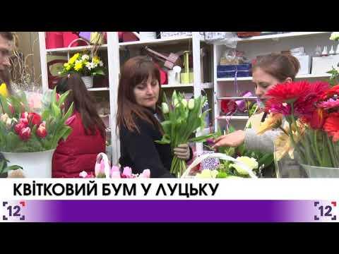 Квітковий бум у Луцьку