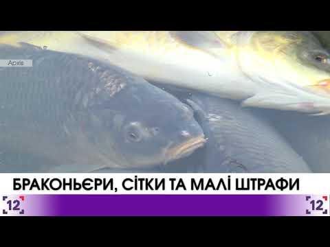 На Волині затримали незаконних рибалок