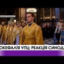 Автокефалія УПЦ: реакція Синоду