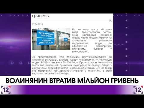Волинянин втратив мільйон гривень