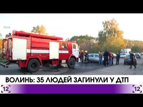 Волинь: 35 людей загинули у ДТП