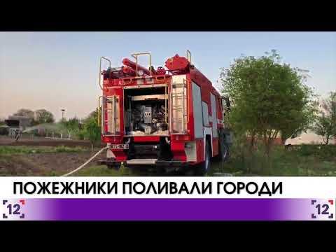 На Волині пожежники поливали городи