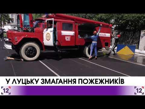 У Луцьку відбулись змагання пожежників