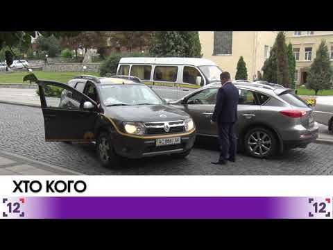 На перехресті вулиць Кривий Вал та Богдана Хмельницького – аварія