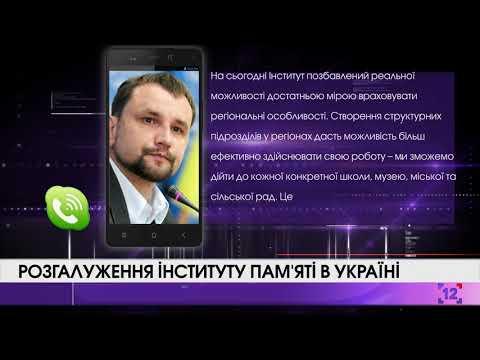 Розгалуження Інституту пам'яті в Україні