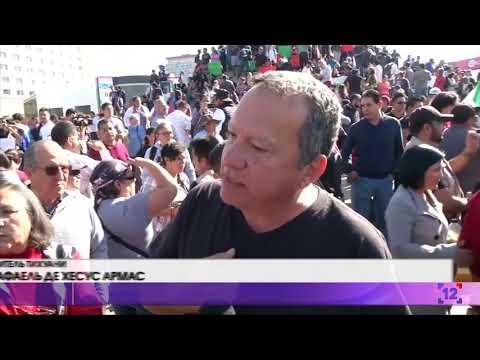 Мексиканці проти каравану мігрантів