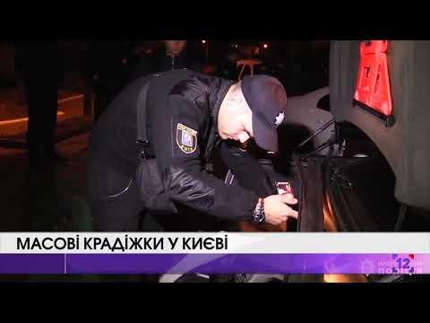 Масові крадіжки у Києві