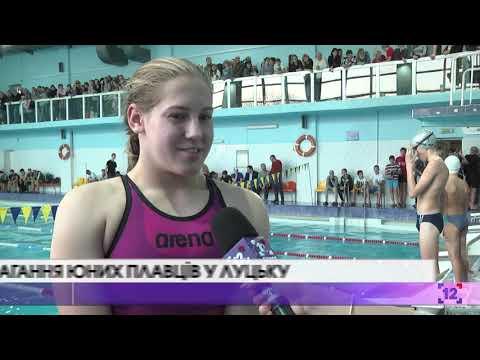 Змагання юних плавців у Луцьку