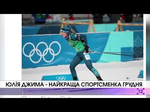 Юлія Джима – найкраща спортсменка грудня