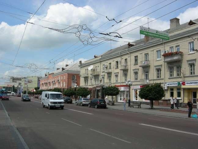 У центрі Луцька зроблять нову велодоріжку