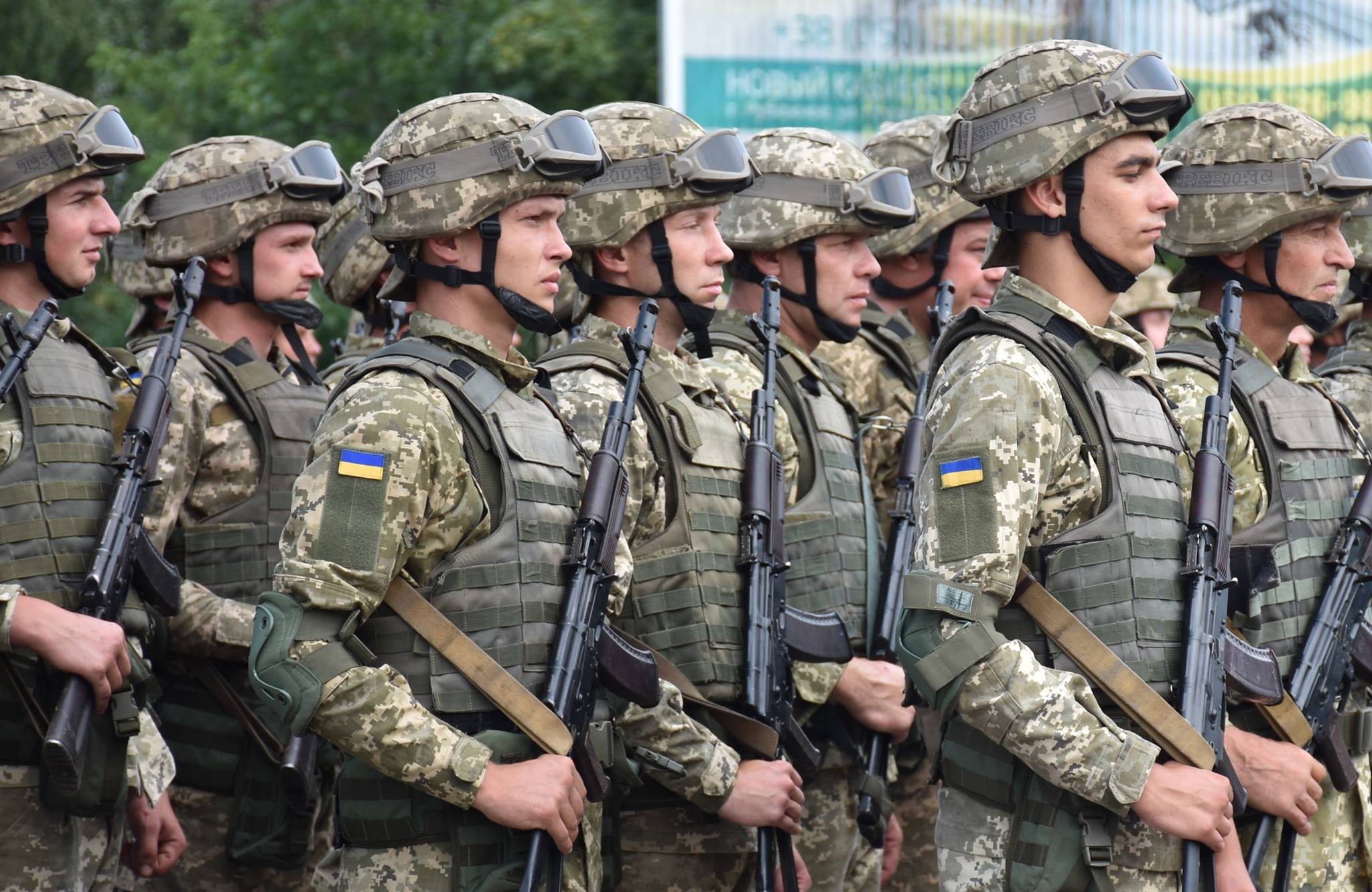 Не втягуйте нас у мерзотне політиканство, – 14 ОМБр про скандальний банер у Луцьку