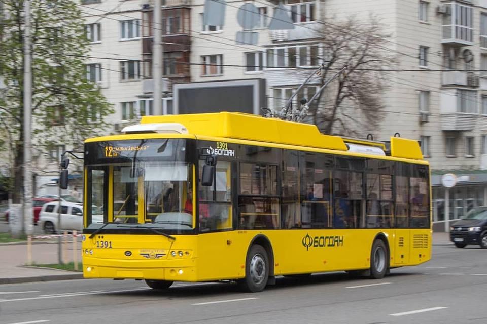Сучасні тролейбуси луцького заводу курсуватимуть Харковом