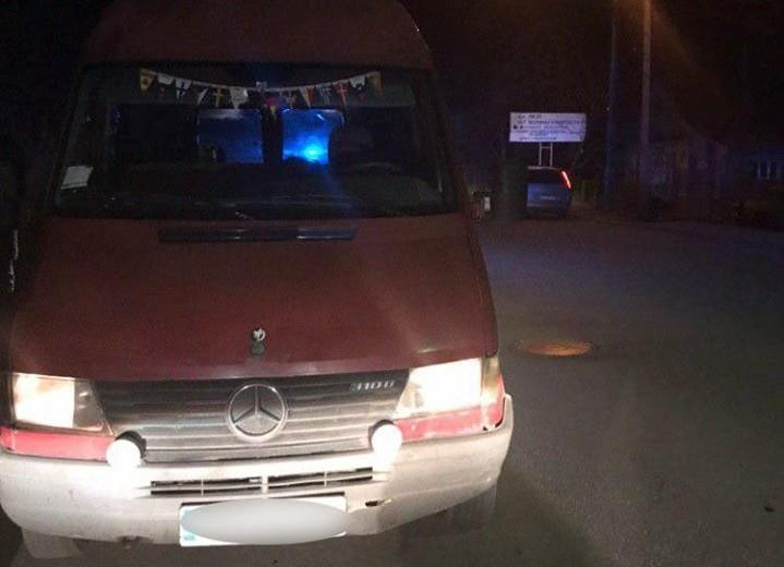У Луцьку патрульні затримали автомобіль, який був у розшуку. ФОТО