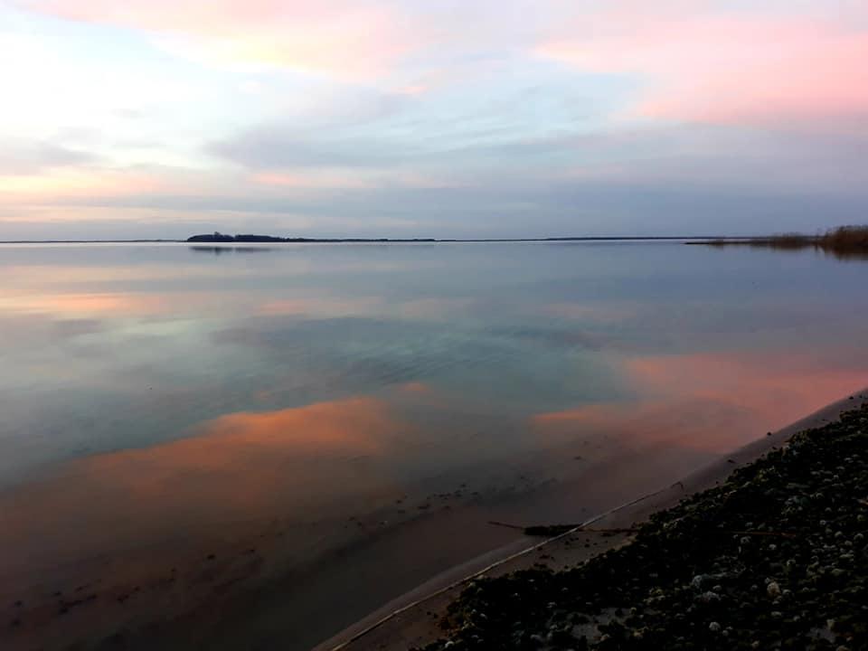 Фантастичний захід сонця на Світязі. ФОТО