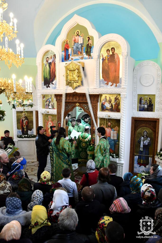 На Волині освятили церкву Московського патріархату. ФОТО