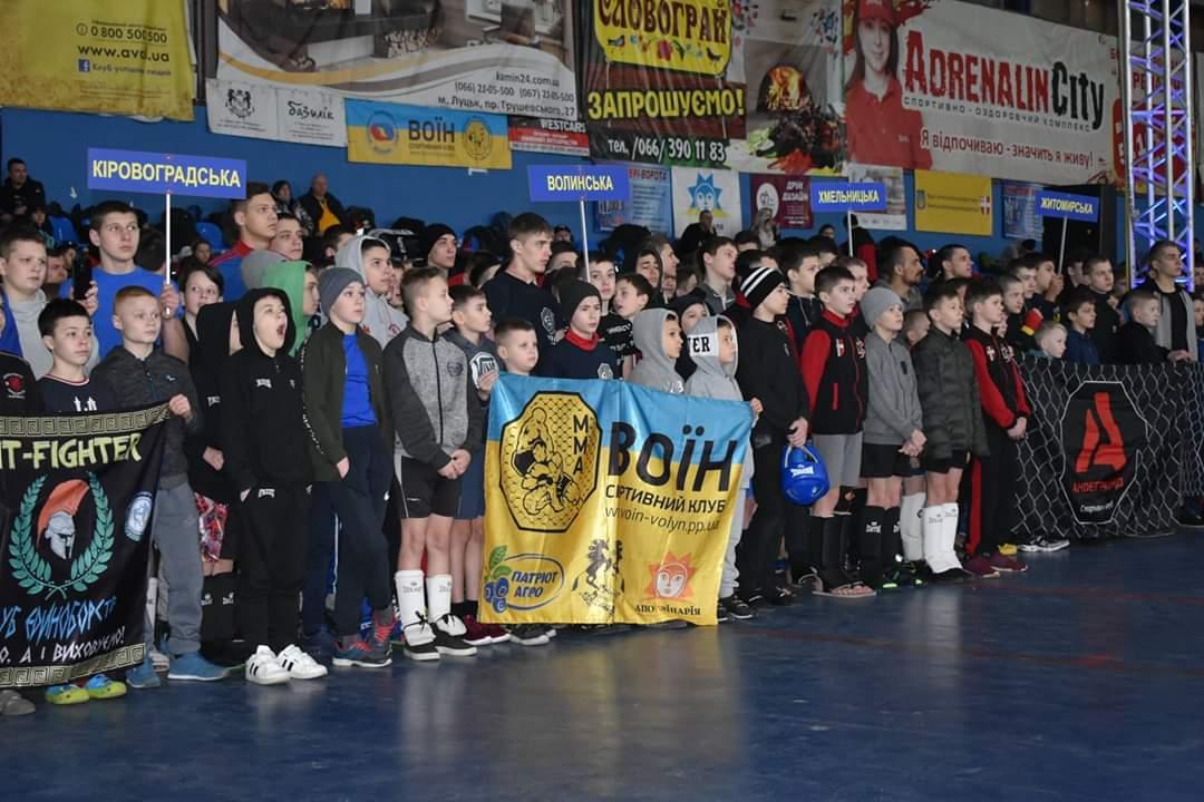 У Луцьку – чемпіонат України зі змішаних єдиноборств ММА