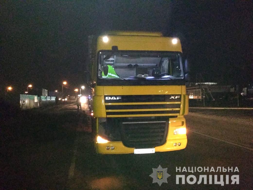 Волинянин вантажівкою наїхав на чоловіка. ФОТО