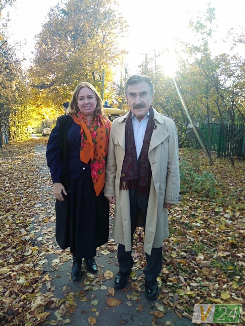 Лучанка знялася у російському документальному серіалі. ФОТО. ВІДЕО