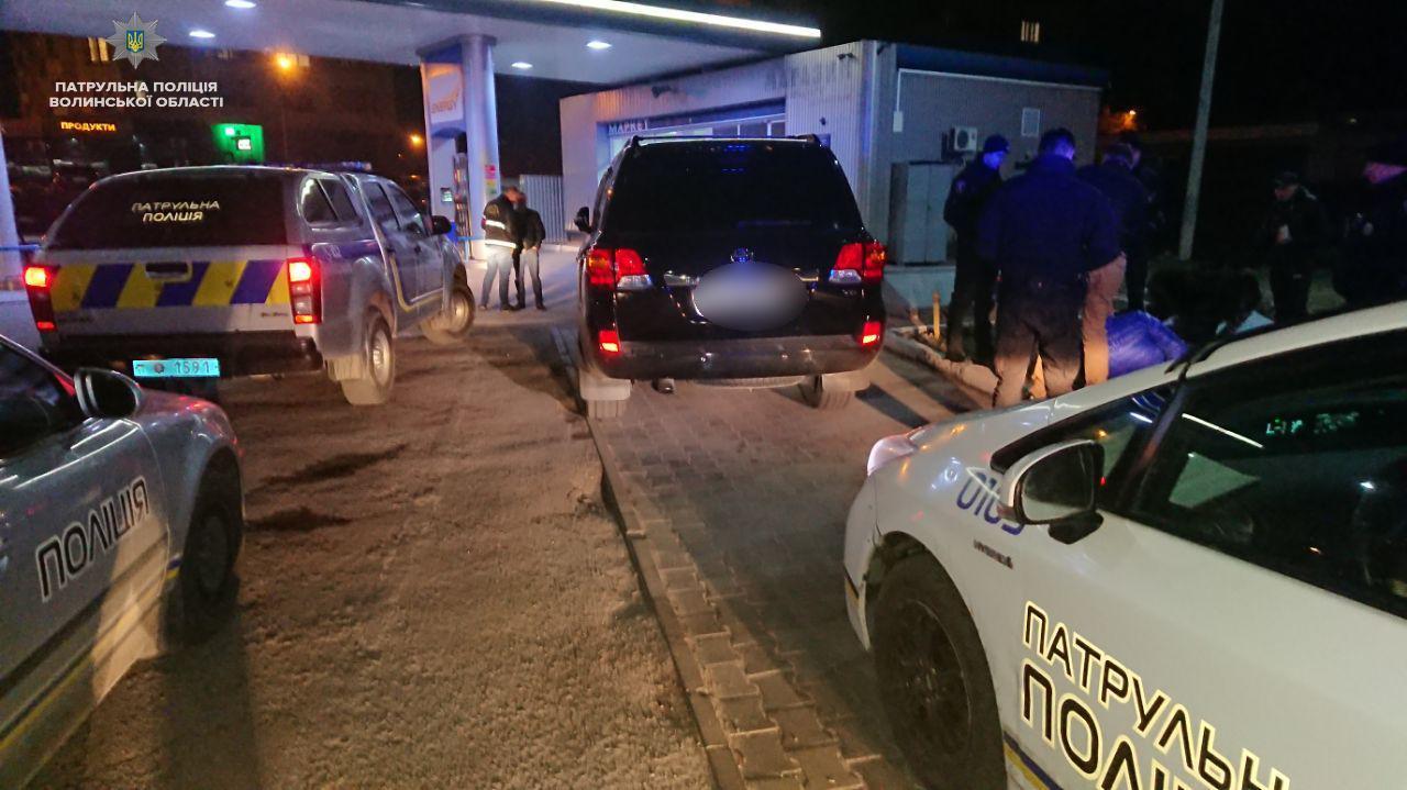 Нічне затримання: у Луцьку зловили п'яного водія. ВІДЕО