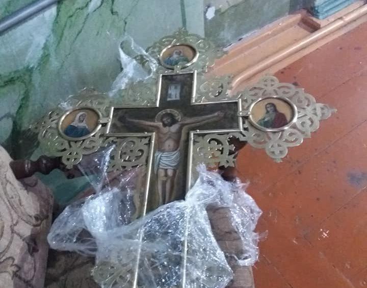 У Жидичинському монастирі відреставрували церковне начиння. ФОТО