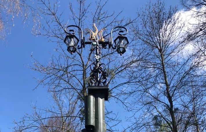 У центральному парку Луцька освітлять алею. ФОТО