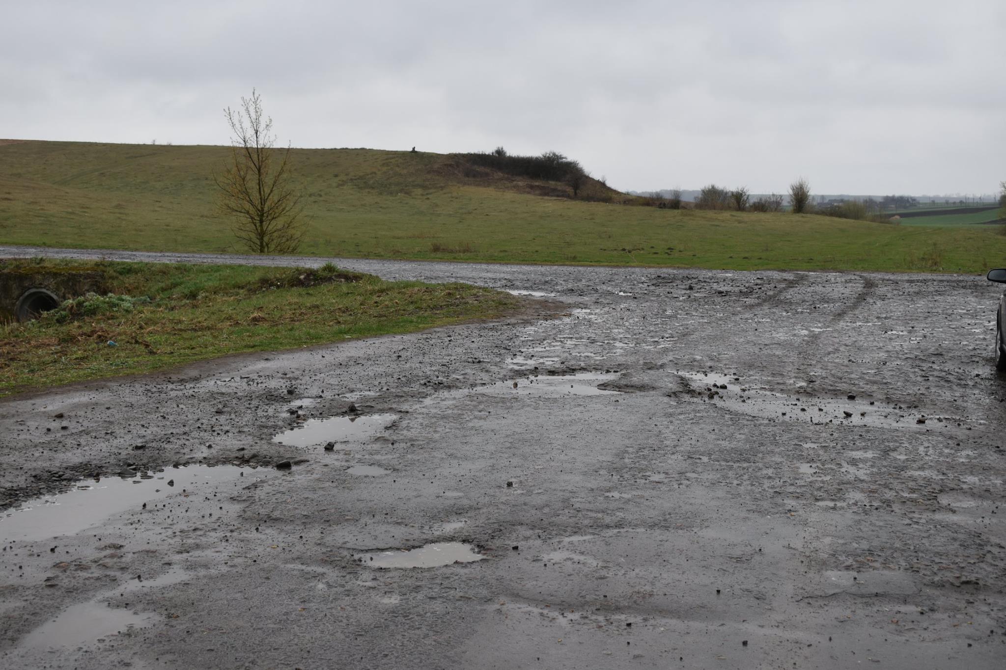 Савченко розкритикував ремонт дороги до Берестечка. ФОТО