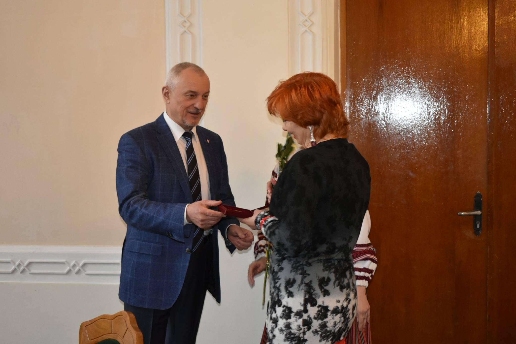 Волинянам вручили відзнаки від Президента. ФОТО