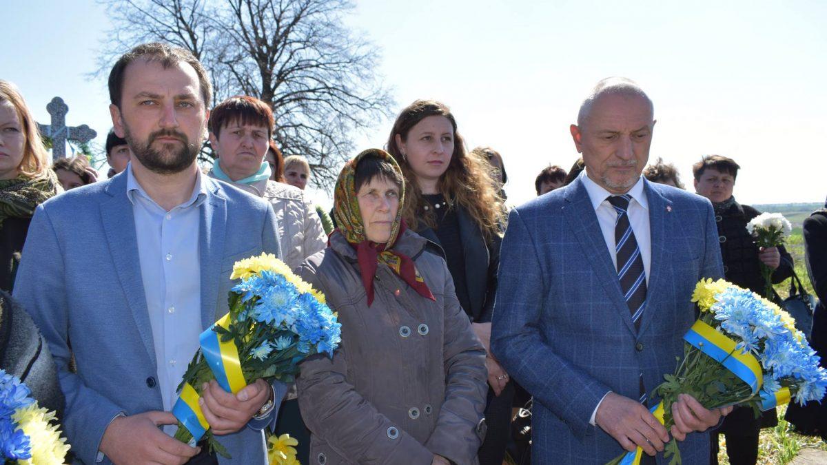 На Волині вшанували загиблих жителів знищеного Красного Саду