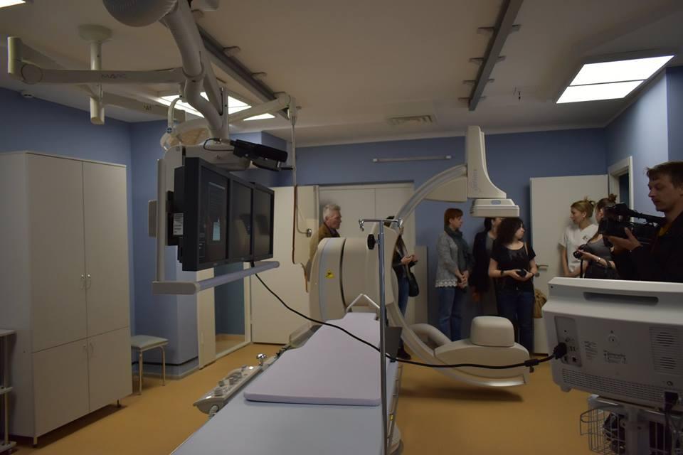У луцькій лікарні запрацював сучасний ангіограф. ФОТО