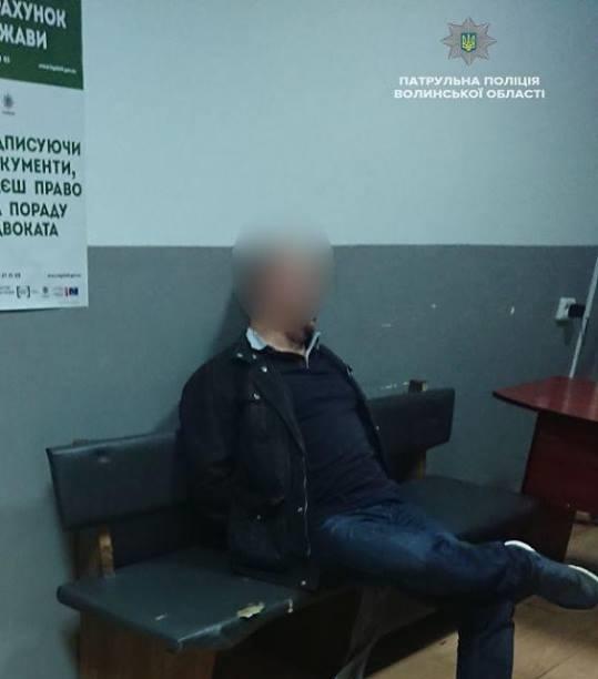 У Луцьку п'яний німець побив паторульного ФОТО. ВІДЕО