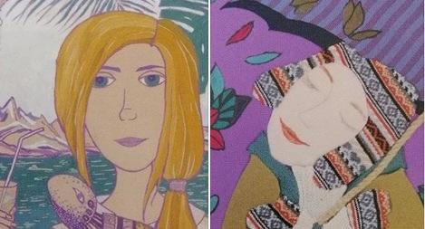Юні волинські художниці здобули срібло на конкурсі в Японії