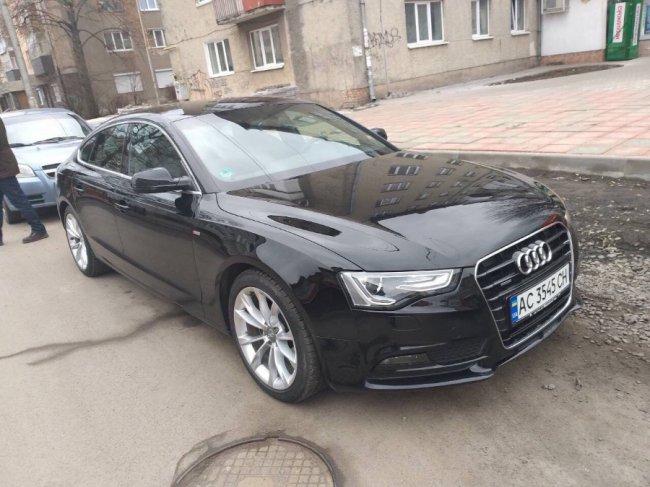 У Луцьку просять допомогти знайти викрадену Audi. ФОТО