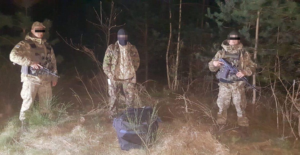 На волинському кордоні зловили 14 контрабандистів. ФОТО