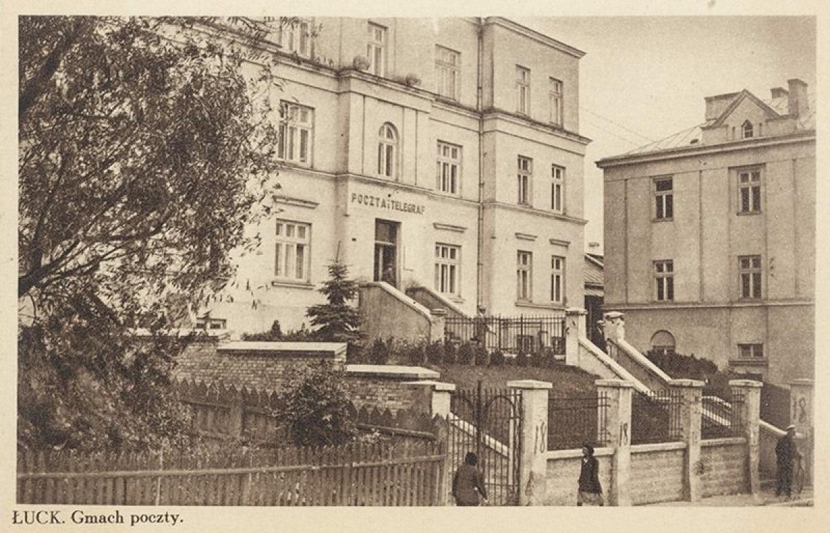 Як виглядала Луцька міська рада майже століття тому. ФОТО