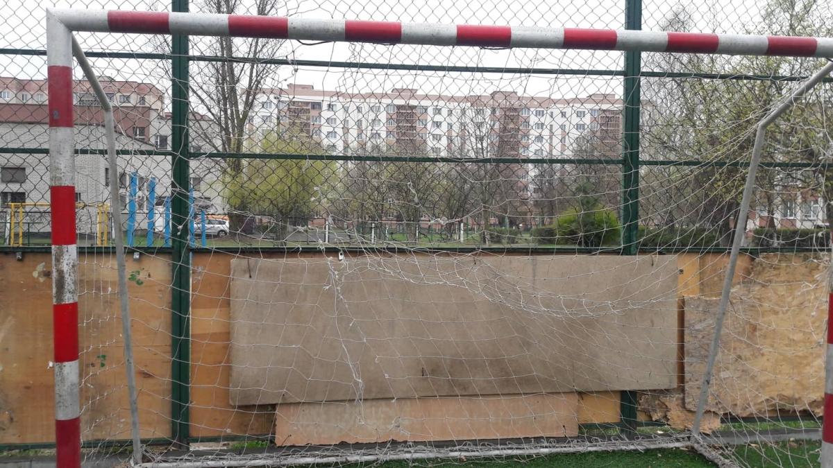 Спортивні майданчики Луцька хочуть ремонтувати за рахунок міського бюджету