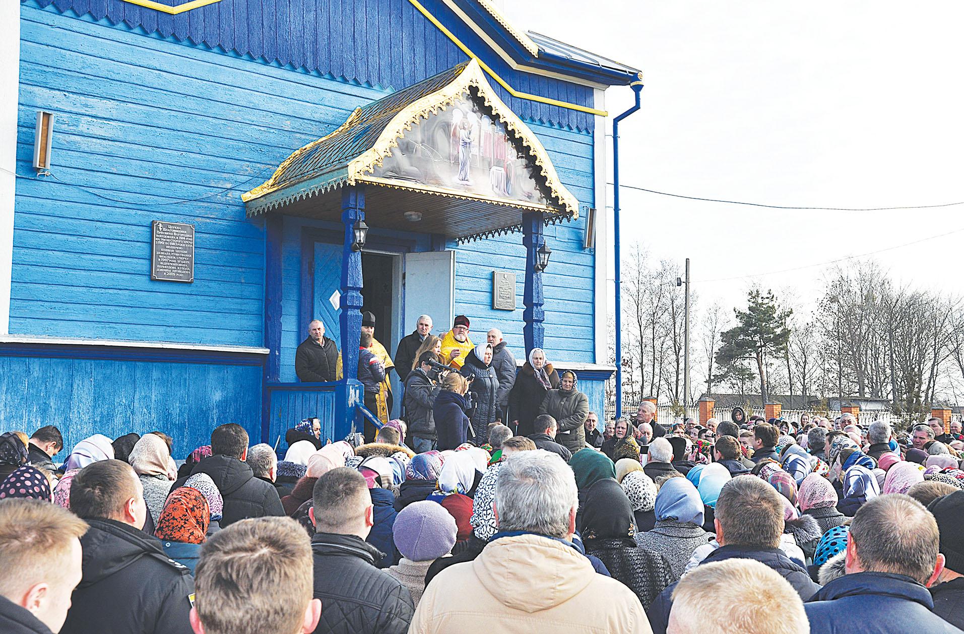 """""""Розмосковлену"""" церкву у селі на Волині передали громаді ПЦУ"""