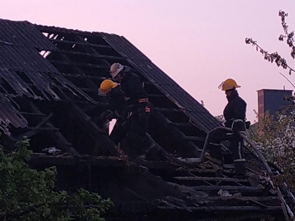 У Ковелі під час пожежі загинуло подружжя. ФОТО