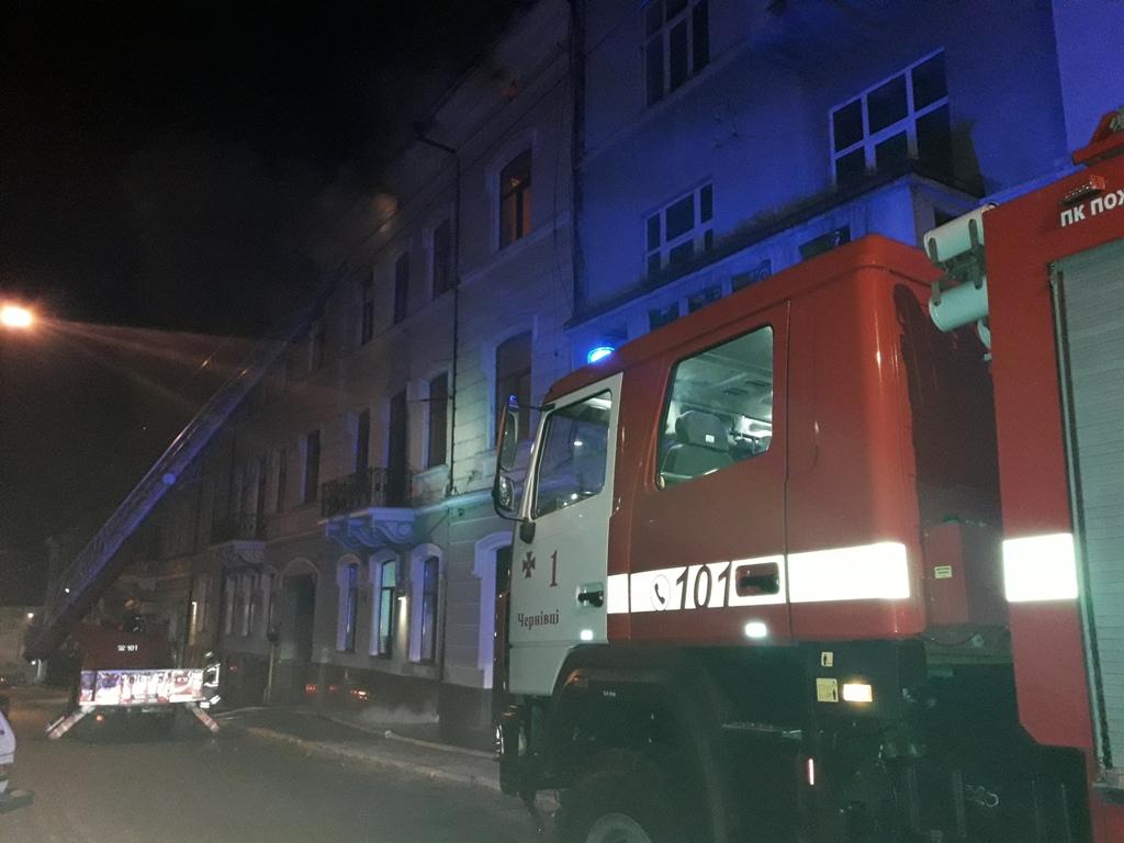 Пожежа у луцькому гуртожитку: евакуювали десятки студентів