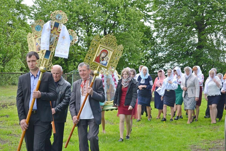 У селі на Волині відсвяткували перший престольний празник у складі ПЦУ. ФОТО
