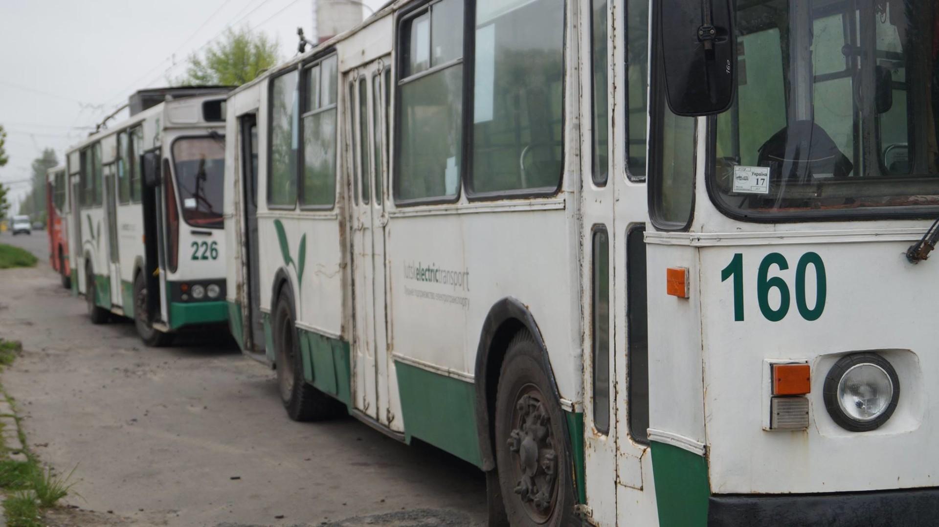 Ціну на проїзд у луцьких тролейбусах хочуть підняти