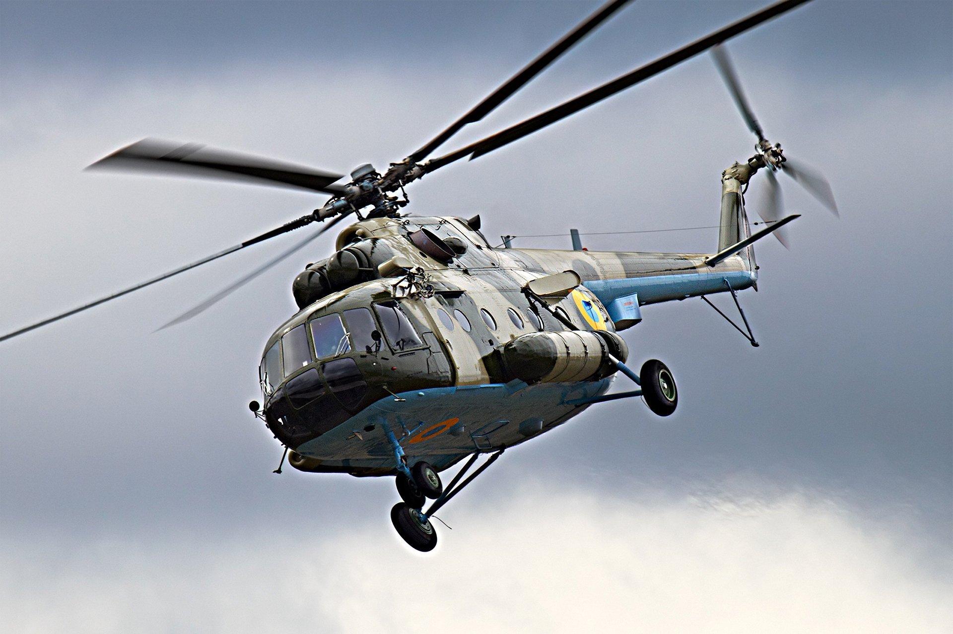 На Рівненщині впав вертоліт. Усі члени екіпажу загинули