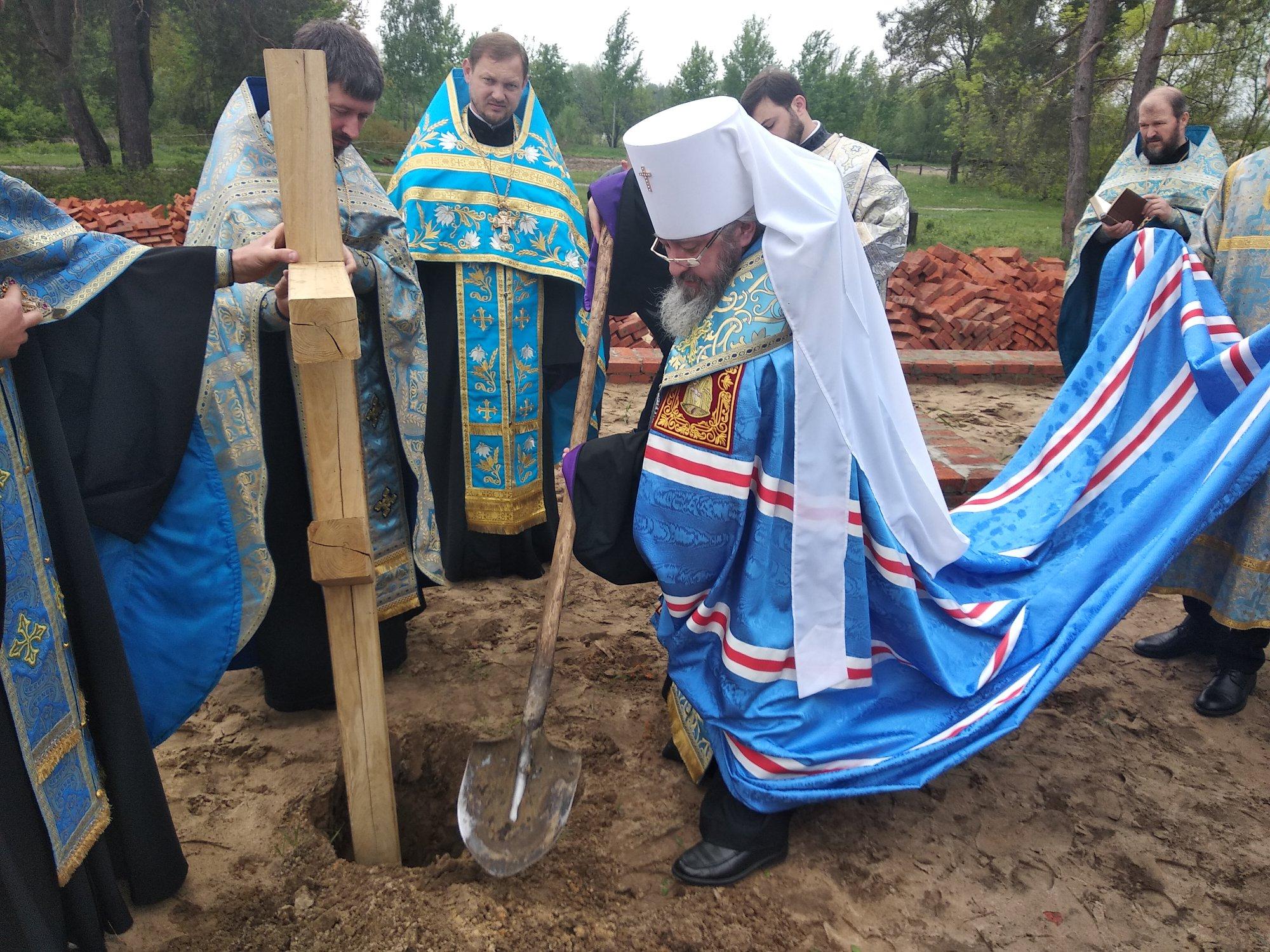 На Волині будуватимуть нову церкву Московського патріархату. ФОТО