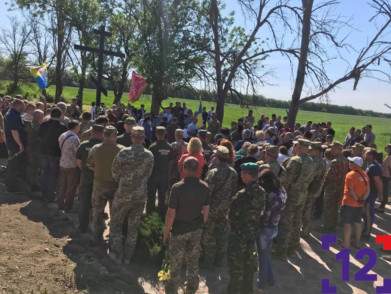 У Волновасі вшанували розстріляних сепаратистами бійців волинської бригади. ФОТО