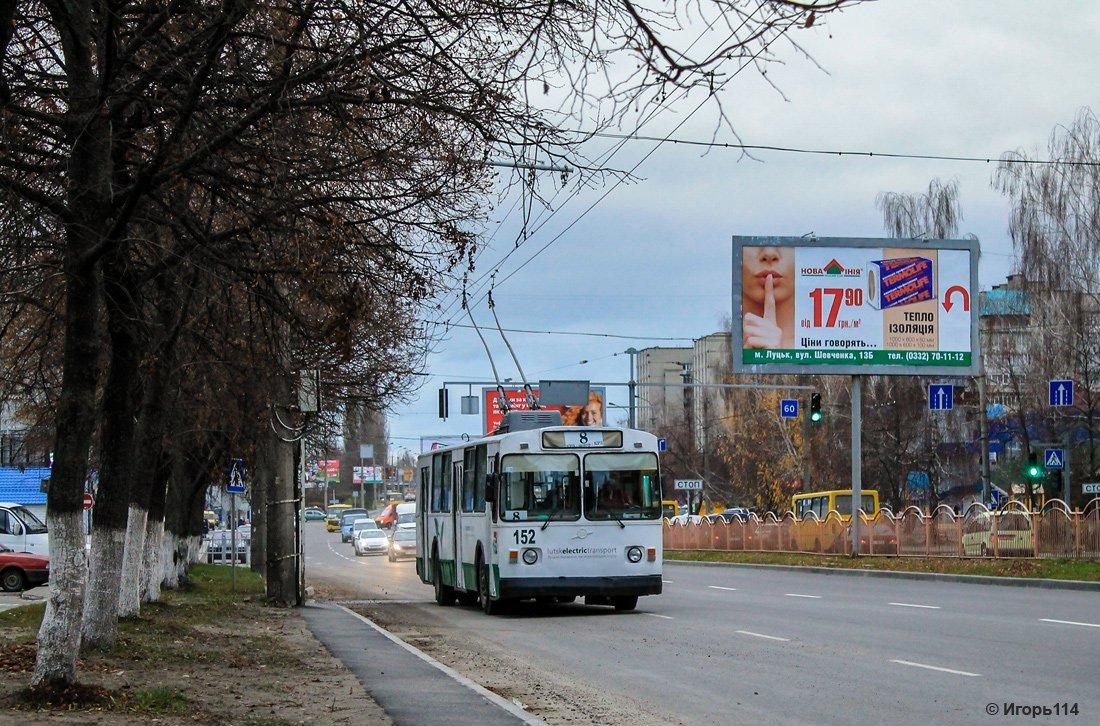 У Луцьку перестали їздити тролейбуси №8 та №9