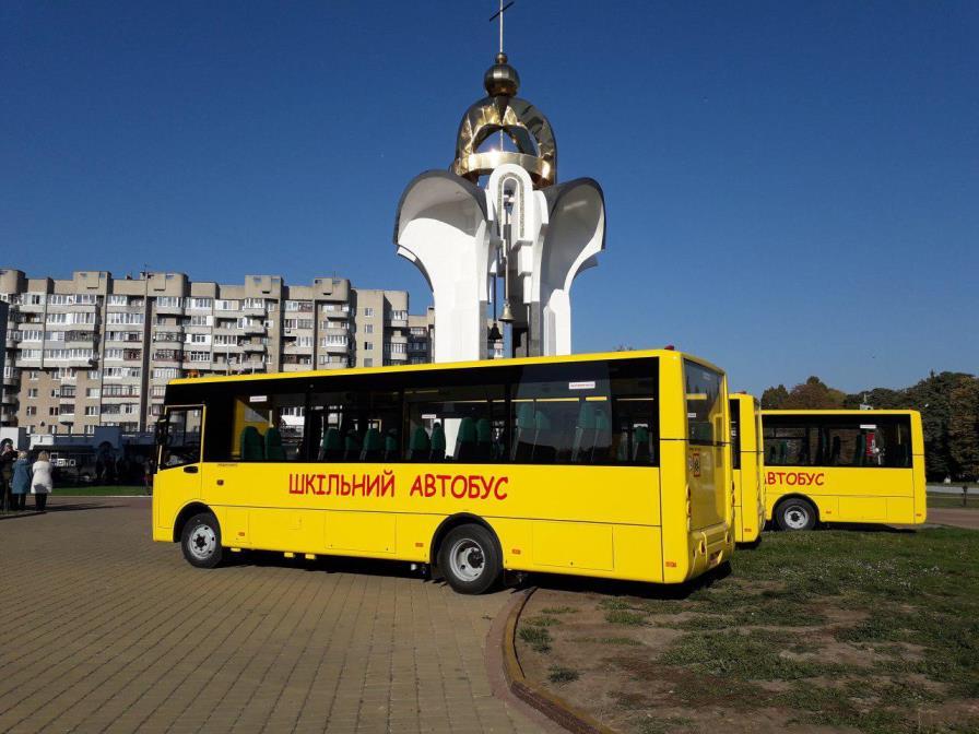 28 новеньких автобусів луцького заводу їздитимуть на Житомирщині. ФОТО
