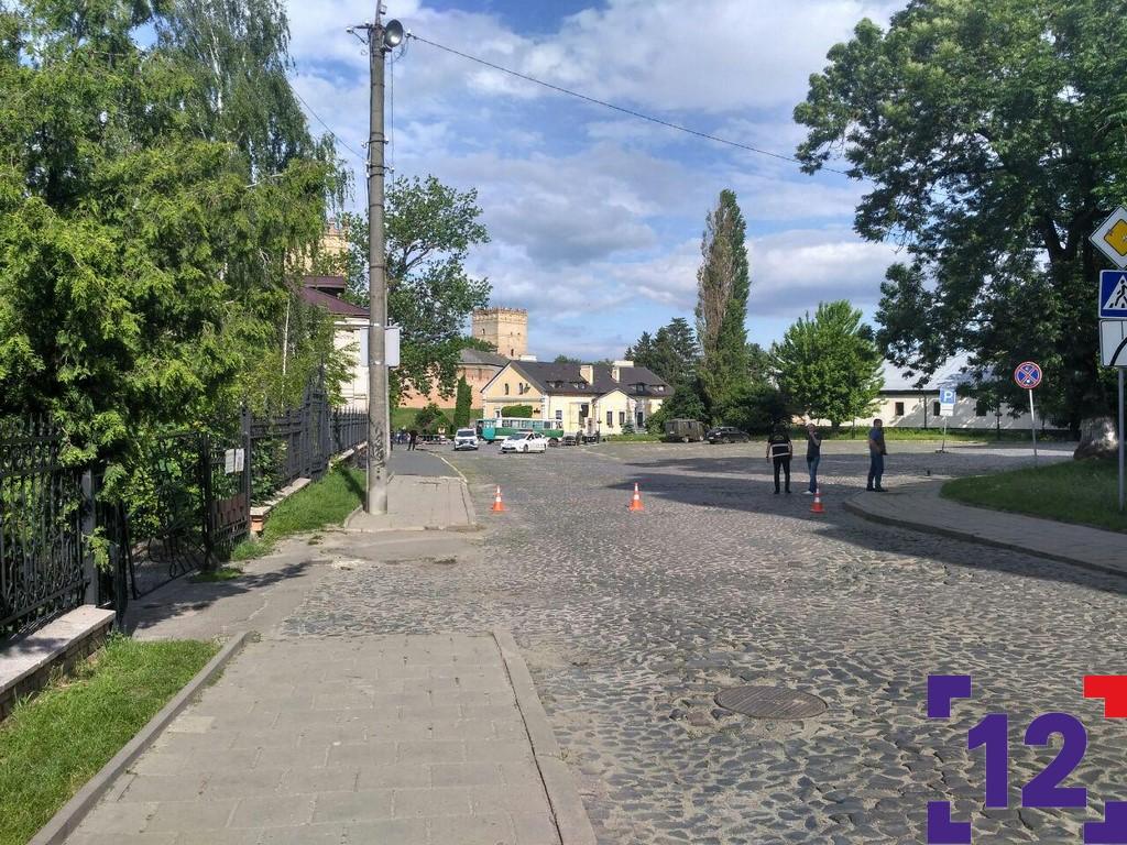 Масштабне замінування у Луцьку: що відбувається біля замку Любарта. ФОТО