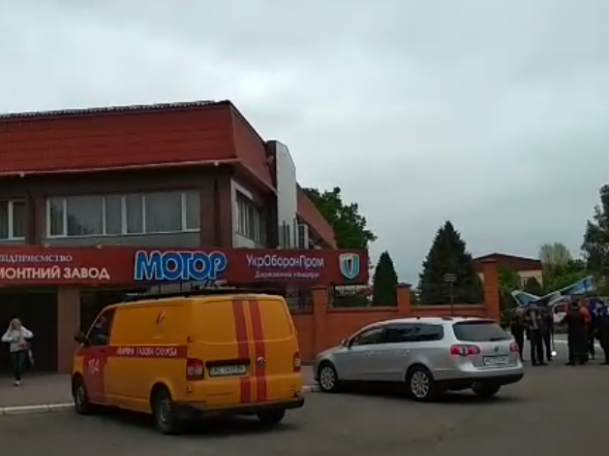 """Охорона луцького """"Мотору"""" прокоментувала переполох на заводі"""