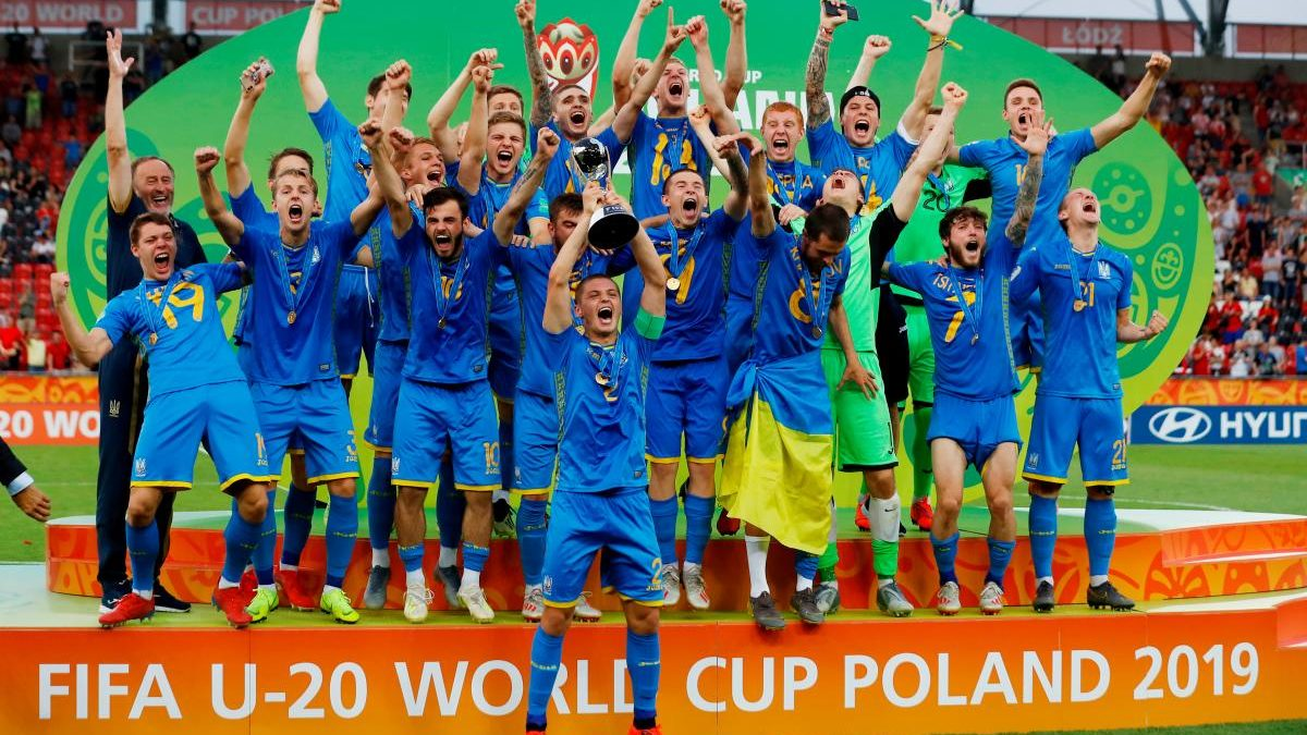 Вперше в історії: збірна України U-20 стала чемпіоном світу