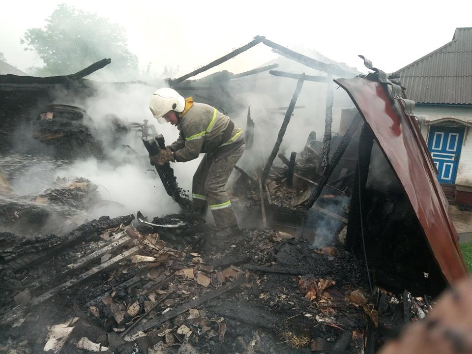 На Волині у пожежі загинув 64-річний чоловік